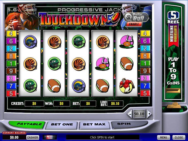 Vecchie slot machine spostamento