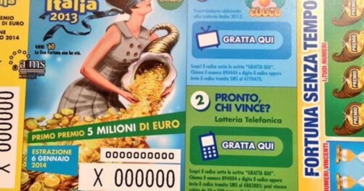 Lotteria Italia Informazioni 115766