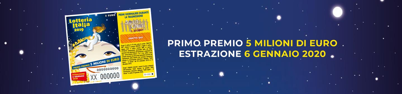 Lotteria italia estrazioni piatto