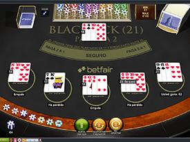 Blackjack online classico 119333