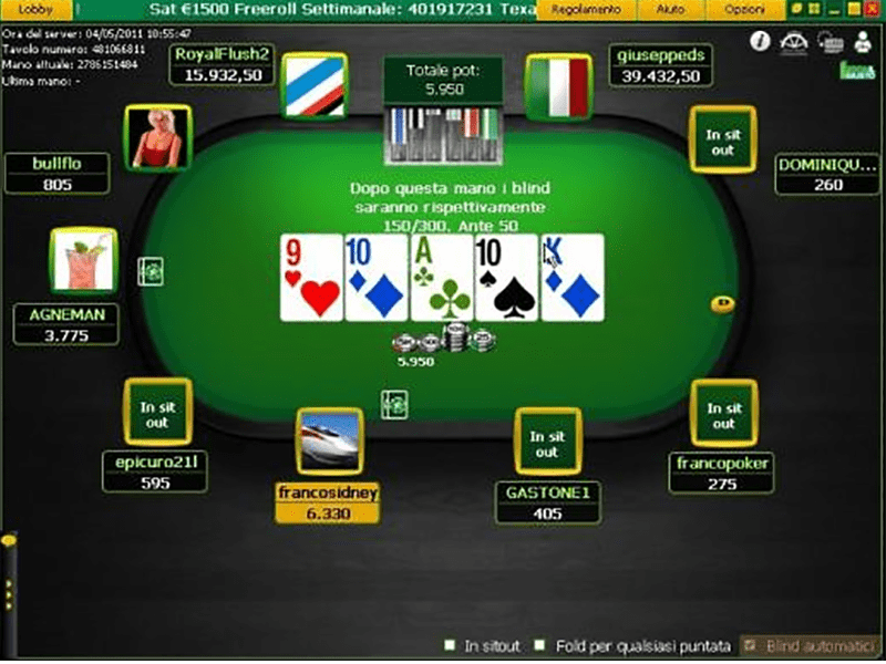 Gaming sul cellulare Bodog 155034