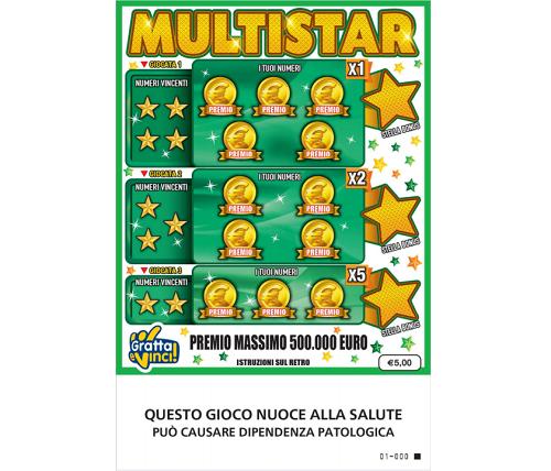 Lotteria Italia 50 Stars 119214