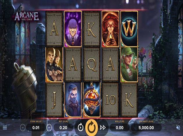 Poker room Arcane Reel 230189