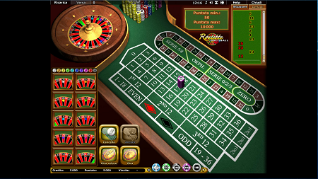 Roulette con croupiers dal beowulf