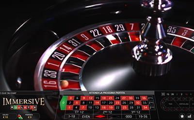 Roulette europea o paletto